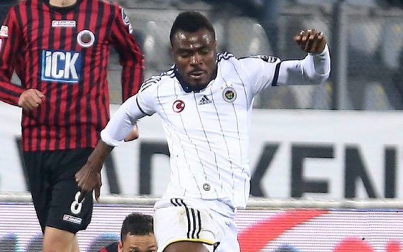 Nigeria's Emenike in shock after Fenerbahce bus shooting