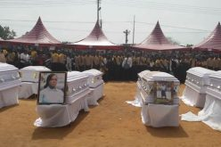 Mass burial for nine SDA members killed in Easter tragedy