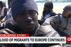 Italy: 'I enter Europe or I die': Desperate migrants rescued off Italy