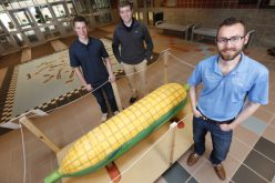 ISU engineering students will auction Ghanaian folk art coffin to fund village dam