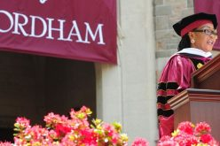 First Lady of Ghana Lordina Mahama gives commencement at Fordham University