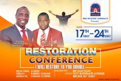 Restoration Conference