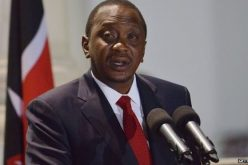 Kenya's Uhuru Kenyatta urges Africa to give up aid