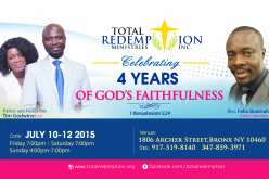 Total Redemption Fourth Anniversary