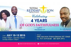 Total Redemption Fourth Anniversary
