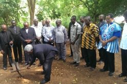 Ghana: Presby moderator cuts sod for multibillion church
