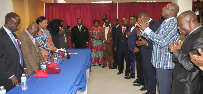 Ghanaian Ministers Gather to Pray for Nana Akufo-Addo, National Peace and Unity.