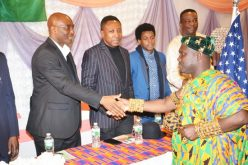 Ghanaian Community at Tracey Towers host Government Official
