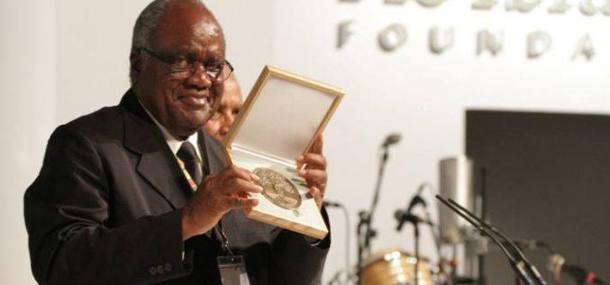 Former Namibia president awarded $5m Mo Ibrahim prize