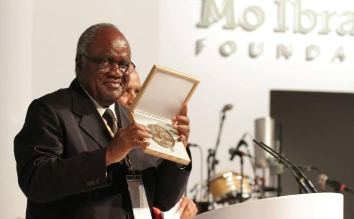 Ex-Namibia president awarded $5m Mo Ibrahim prize