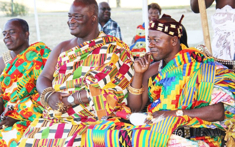 Asante Day 2015: A Colorful Durbar of the chiefs rich Ashanti culture on display