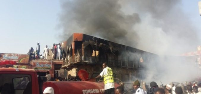 Fire Destroys Nigeria's Kano Market
