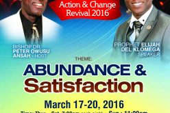 CDCA Action and Change Revival 2016