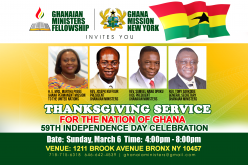 Thanksgiving Service for the Nation Ghana