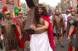 Church celebrates Good Friday with Passion reenactment