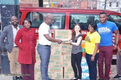 Royalhouse Chapel NY Mission (WMG) donates items to victims of fire