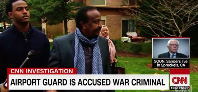 Somali 'war criminal' is now working security at Dulles International Airport