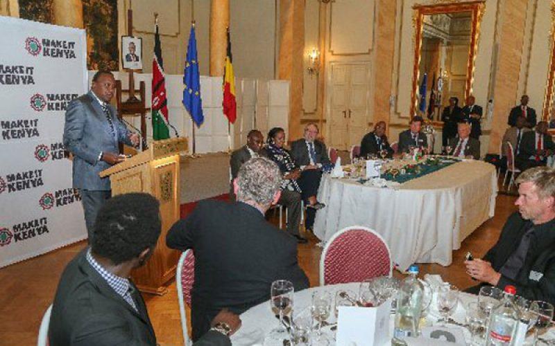 Europe: Uhuru meets Kenyans in Belgium, pledges to support diaspora interests