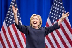First woman to clinch nomination acknowledges the moment