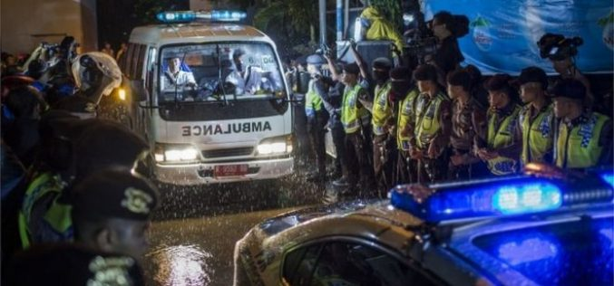 Indonesian and three Nigerians executed for drug crimes