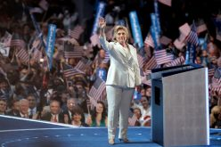 Hillary Clinton Historic Moment