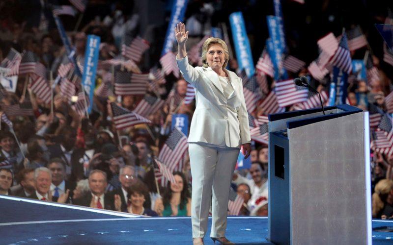 Hillary Clinton Historic Moment