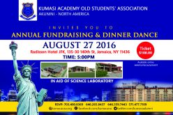 Kumasi Academy old students to complete multipurpose lab for school