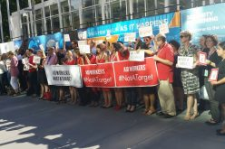 Humanitarian Workers draw attention to their plight at the UN
