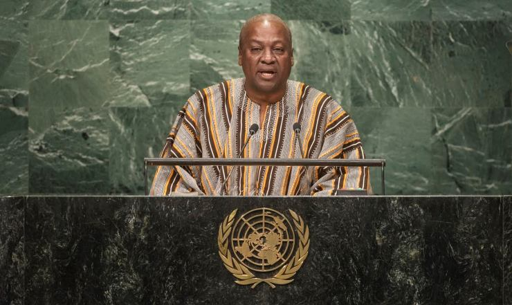 Address by His Excellency John Dramani Mahama, President of the Republic of Ghana General Assembly Seventy-first session 10th plenary meeting General Debate