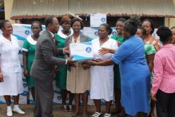 Kwakwaduam Association gives to Akuapem midwifery centres
