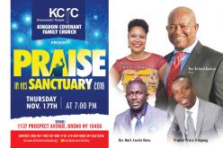 Praise in his Sanctuary 2016
