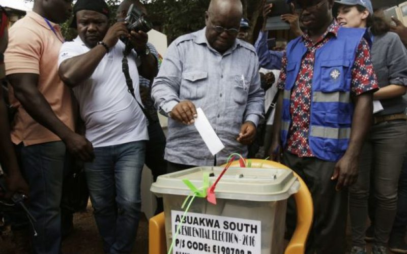 Ghana Awaits Election Results