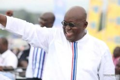 Third time lucky, as Nana Akufo- Addo  becomes Ghana's 5th President.