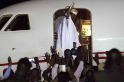 Gambia's Jammeh Cedes Power, Flies into Exile