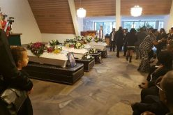 Ghanaian woman and her three children who perished in fire laid to rest
