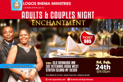 Logos Rhema Ministries Couples and Adults Night
