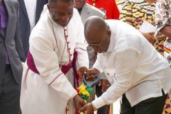 Ghana's President cuts sod for National Cathedral