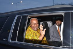President Mahama meets Ghana National Council of Metropolitan Chicago