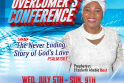 Holiness is the Lord Overcomer's Conference