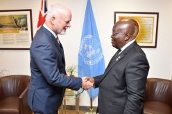 Akufo-Addo, UN General Assembly President confer in New York