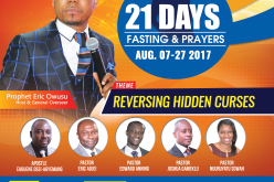21 Days Fasting and Prayers