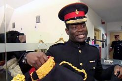 Ghanaian-born soldier becomes first black equerry in Britain's royal household