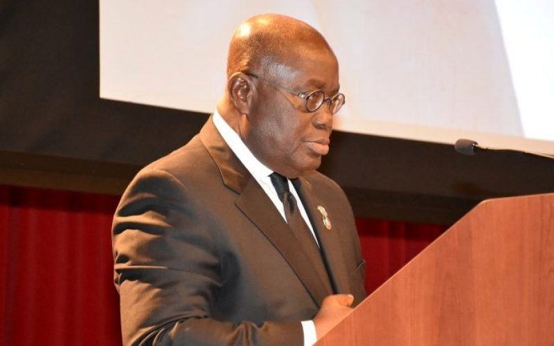 I put my presidency on the line for galamsey fight – Akufo-Addo