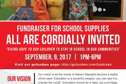 Stay in School Fundraising