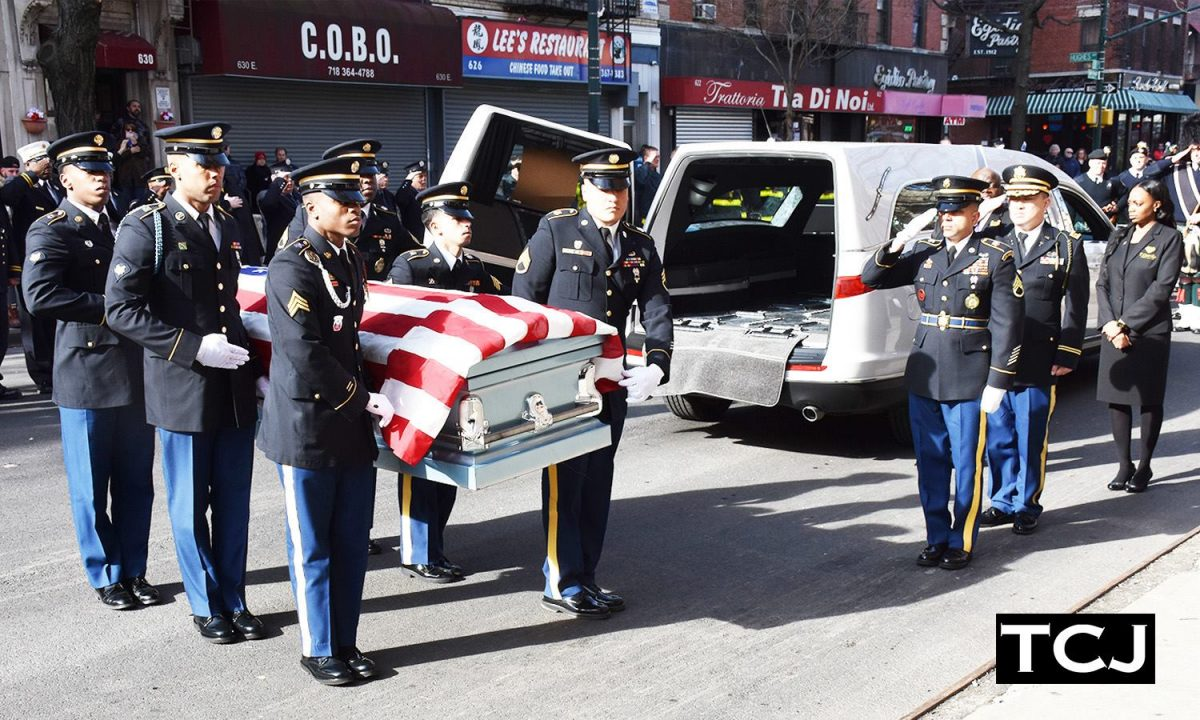 A GHANAIAN US SOLDIER WHO DIED SAVING OTHERS LAID TO REST