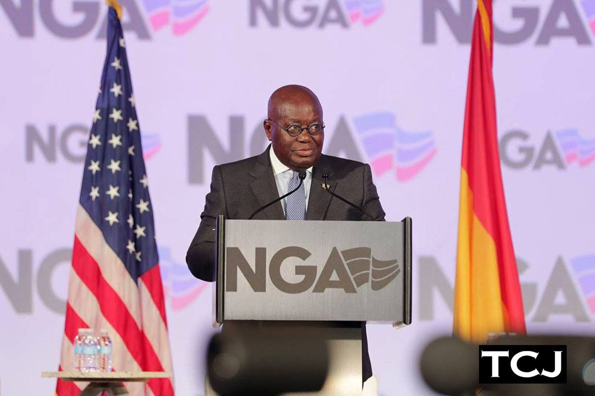 NGA Winter Meeting 2018 with President of the Republic of Ghana
