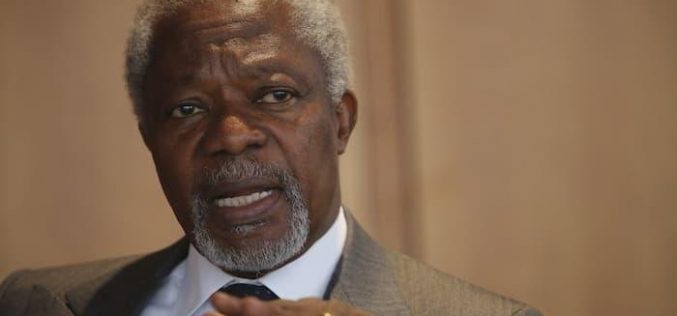 Former UN Secretary General Kofi Annan talks illiberal democracies, election issues