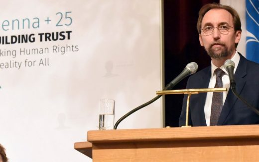 Human rights under attack, 'no longer a priority; a pariah' – UN rights chief