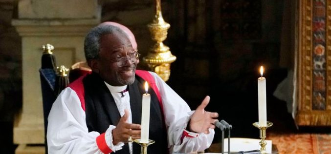 Bishop Michael Curry Preaches on Jesus' Sacrificial Love' at Prince Harry, Meghan Markle Wedding