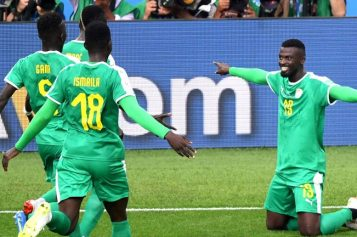Senegal claim Africa's first 2018 World Cup win